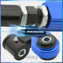 2005-2010 Scion Tc Suspension Cnc Front Bolt Black Rear Camber Arm Rod Kit Blue