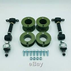 3 inch (76mm) Lift Kit with Camber Adjusters for 1997-2001 Honda CR-V