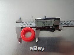 6 Pcs Polyurethane Red Bushings For Skunk2 Rear Control Arm & Rear Camber Kit