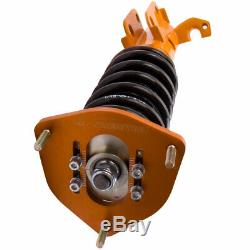 Adj Camber Strut Coilovers Suspension Kit For Toyota Corolla 88-99 E90 E100 E110