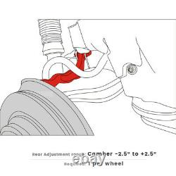 Adjustable Rear Alignment Camber Kit Fit Mercedes Benz S(2007-13), CL(1992-2013)