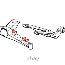 BMW E30 Rear subframe Camber Toe adjustment kit E34 Z3 E28 E21 E36 compact 323ti