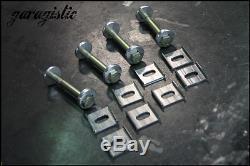 BMW e30 rear subframe camber and toe correction kits with hardware 325i m3 e28