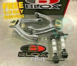 Blox Competition Front Camber Kit & Blox Rear Camber Kit Combo 1996-2000 EK
