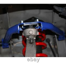 Blue Fits 03-08 350z Z33 03-06 G35 Front+rear Upper Camber Arm Alignment Control
