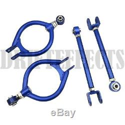 Blue For 89-94 240sx S13 300zx Z32 Z Rear Camber Rucas+toe Arm Kit Alignment Jdm