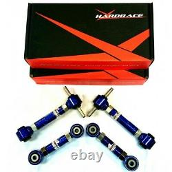 COMBO PACKAGE! HARDRACE Front &Rear Camber /Toe Kit /Trailing Bush Honda EG DC2