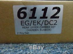 COMBO PACKAGE! HARDRACE Rear Camber & Toe Kit Honda Civic EF DC2 EG EK EJ RD