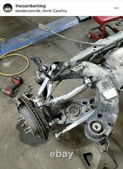 Chrysler 300 2005 2016 Rear Adjustable Camber Thrust Arms Combo Kit Link