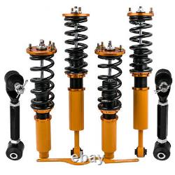 Coilovers Shock for Honda Accord 03-07 Acura TSX 04-08 +2 Rear Upper Camber Arms