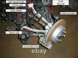 Dodge Charger 2006 2020 Rear Adjustable Camber Thrust Arms Combo Kit Hemi