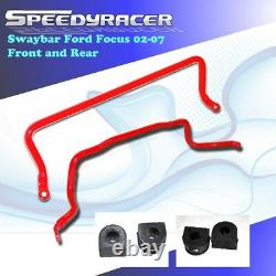 FRONT+REAR SWAY/STABILIZER BAR/ANTI-ROLL ARM/BRACE fit 02-07 FORD FOCUS ST170