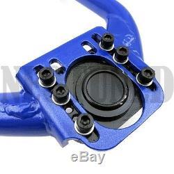For 03-08 350z Z33 Front Upper + V2 Rear Camber Arm Kit Set Alignment Suspension