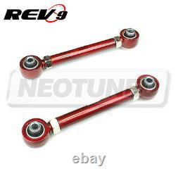 For 06-11 335i 328i 330 E90 E92 E93 328 335 Red Rear Adjustable Camber Arm Kit