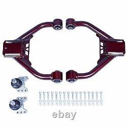 For 370z 09-19 Z34 Godspeed Ajustable Front Upper+rear Camber Arm Suspension Set