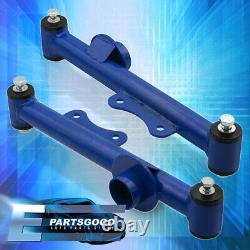 For 79-04 Ford Mustang V8 Rear LCA Lower Control Camber Suspension Arms Kit Blue