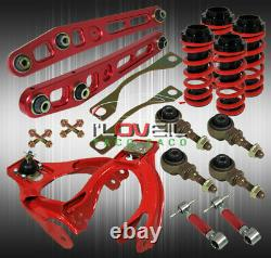 For 92-95 Civic Eg JDM Adjustable Coilover Rear & Front Camber Lower Control Arm