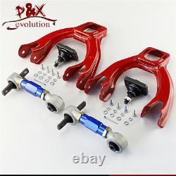 For 92-95 Honda Civic EG EJ Front Upper Control Arm withAdjustable Camber Kit Blue