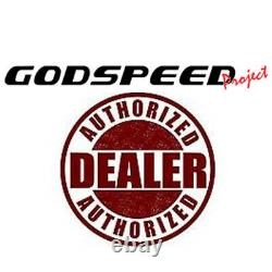 For 99-05 BMW E46 3-Series Godspeed MonoRS Coilovers Camber Plate Suspension Kit