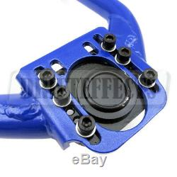 For G35 03-06 Sedan/Coupe Adjustable Front + Rear Upper Camber Arms Ball Joints