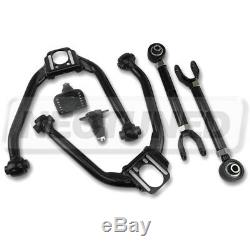 For G35 Coupe/Sedan Black Adjustable Front Rear Upper Camber Arm Kit Alignment