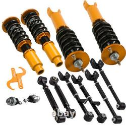 Full Coilover Suspension Struts + 6 x Rear Camber Arms for Honda ACURA TSX 09-14