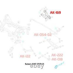Godspeed Adjustable Rear Upper Camber Arm Kit Set For Subaru Wrx / Sti 2008-14