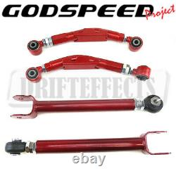Godspeed Adjustable Rear Upper Camber Arm+compression Kit For Dodge Challenger