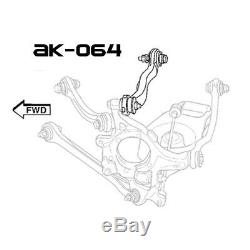 Godspeed Adjustable Rear Upper Camber Arms Kit For Dodge Charger (LX/LD) 2006-20
