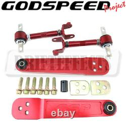Godspeed Rear Lower Control Arm + Rear Camber Arm Kit For 2001-05 Honda Civic
