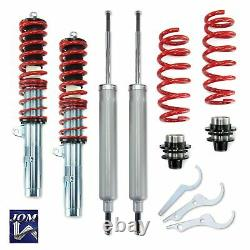 JOM Adjustable Coilover Suspension Kit Fits BMW 3 Series E90 E91 E92 E93 05-10