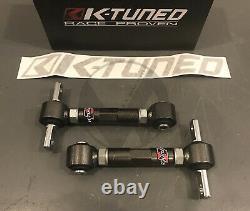 K Tuned Spherical Rear Camber Kit for 88-00 Honda Civic 90-01 Integra EG EK DC