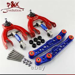 Lower Control Arm LCA+Bushing Washer+Front Rear Camber Kit For Civic EG EJ EH BL