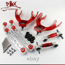 Lower Control Arm LCA+Bushing Washer+Front Rear Camber Kit For Civic EG EJ EH SL