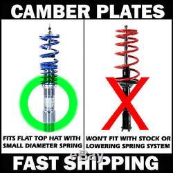 MK1 PillowBall Bearing Camber Kit Plates Pontiac Fiero SE GT V6