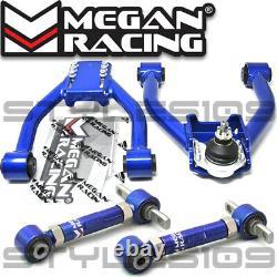Megan Racing Adjustable Front Camber Control Arms Kit For Honda CR-V 1997-2001