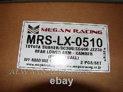 Megan Rear Lower Camber Control Arms Fits Lexus SC300 SC400 92-00 MRS-LX-0510 2p