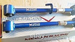 Megan Rear Upper Camber Control Arms Fits Accord 08-16 Acura TSX 09-14 TL 2pcs