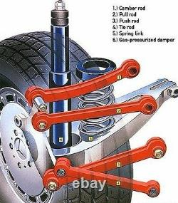 Mercedes Benz Rear Adjustable Arm Camber Kit W201 W210 W124 2 Arms Pair