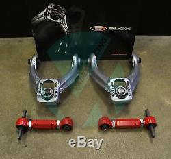 OPEN BOX Blox Front & VMS Rear Camber Kit Combo For HONDA CIVIC 96-00 EK
