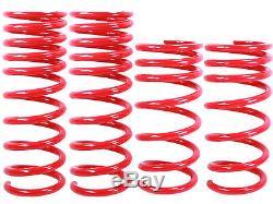 RED Lowering Springs Fit 06-13 Lexus IS250/IS350 Drop Suspension Kit