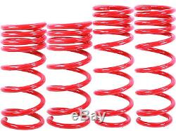 RED Lowering Springs fit 03-08 Nissan 350Z Infiniti G35 2dr Approx. 1.25 Drop