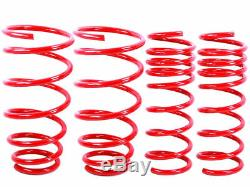 RED Lowering Springs fit 2007 and Up Toyota Yaris (NCP91L) 3dr 2 Drop