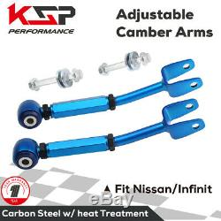 Rear Control Arm Camber Arm Kit Adjustable Fit For 2003-2008 Nissan 350Z 370Z