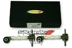 SKUNK2 Front+Rear Camber Kit Pro Plus 92-95 Civic/93-97 Del Sol/94-01 Integra
