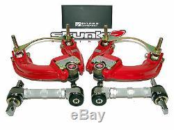 Skunk2 Pro Alignment Camber Kits 88-91 Honda Civic & CRX (Front+Rear Set)