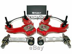 Skunk2 Pro Plus Camber Kits 94-01 Integra DC2 92-95 Civic EG (Front+Rear Set)