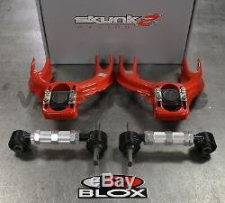 Skunk2 Tuner FRONT & BLOX REAR Camber Kit For HONDA CIVIC 92-95 Acura Integra