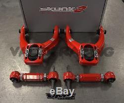 Skunk2 Tuner FRONT & VMS REAR Camber Kit Combo For HONDA CIVIC 96-00 EK