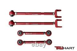 TruHart Adjustable Rear Camber & Toe Control Arms Kit for Honda Accord 08-17 New
